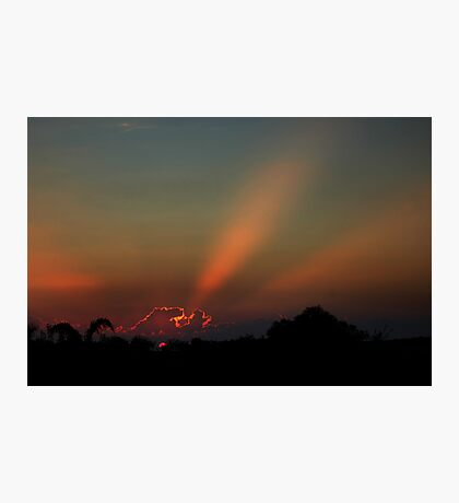 West Australian Sunset Photographic Print
