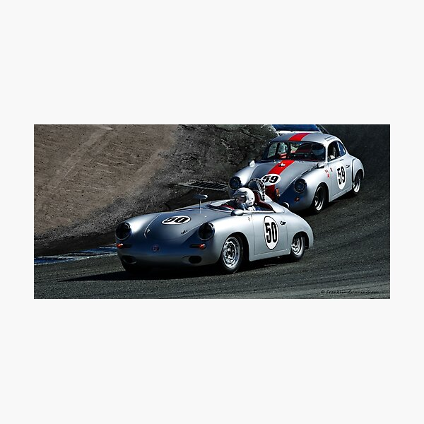 Full Speed at The Corkscrew Photographic Print