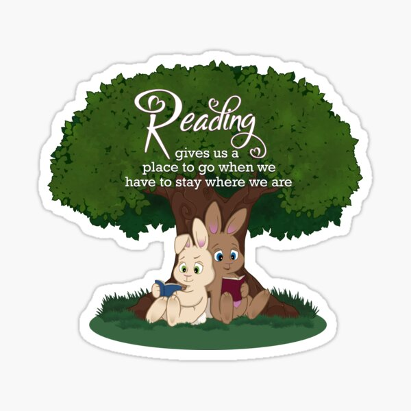 Reading Time Sticker