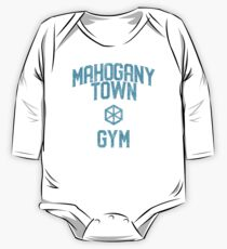 Mahogany Town Gym One Piece - Long Sleeve