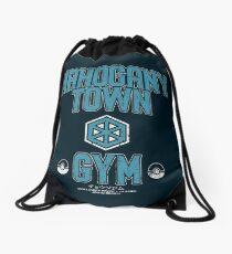 Mahogany Town Gym Drawstring Bag