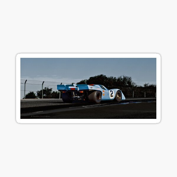 Race Cars of Yesterday  917 Sticker