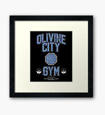 Olivine City Gym Framed Print