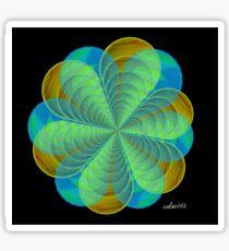 sdd Abstract Fractal 95L Sticker