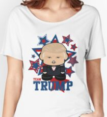 Team Trump Politico'bot Toy Robot Women's Relaxed Fit T-Shirt