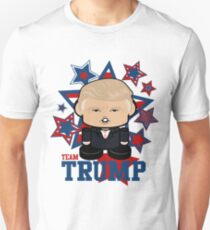 Team Trump Politico'bot Toy Robot Slim Fit T-Shirt