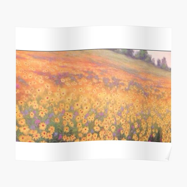 Wildflower Mural without text Poster