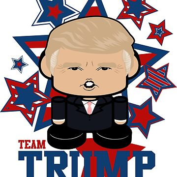 Team Trump Politico'bot Toy Robot by carbonfibreme