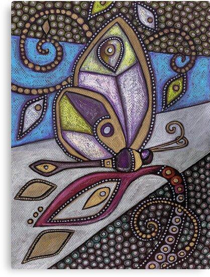 Butterfly I by Lynnette Shelley