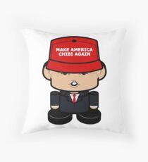 Don T Politico'bot Toy Robot 3.0 Throw Pillow