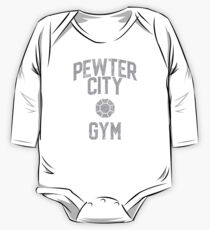 Pewter City Gym One Piece - Long Sleeve