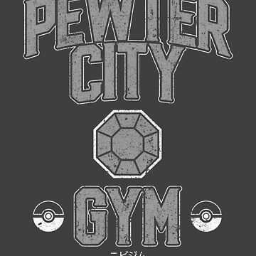 Pewter City Gym by huckblade