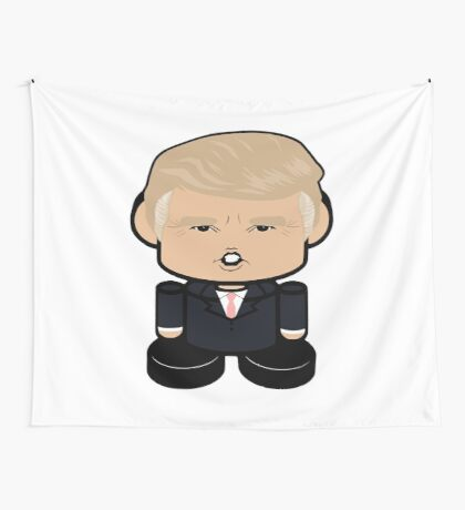 Don T Politico'bot Toy Robot 1.0 Wall Tapestry