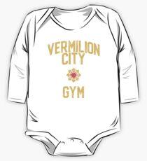 Vermilion City Gym One Piece - Long Sleeve