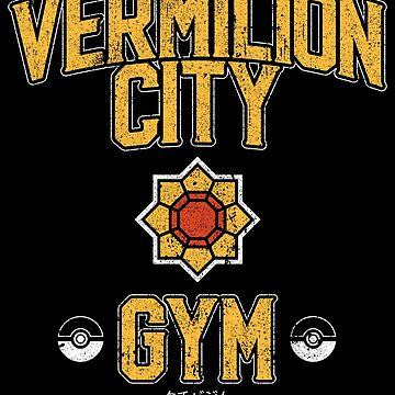 Vermilion City Gym by huckblade