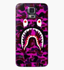 camo purple Case/Skin for Samsung Galaxy