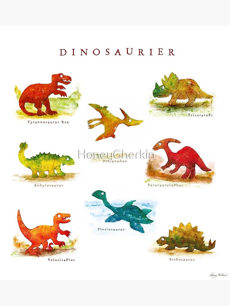Dinosaurier von HoneyGherkin
