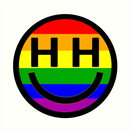 u0026quot;Happy Hippie Foundation Logo [Rainbow]u0026quot; Kunstdrucke von ...