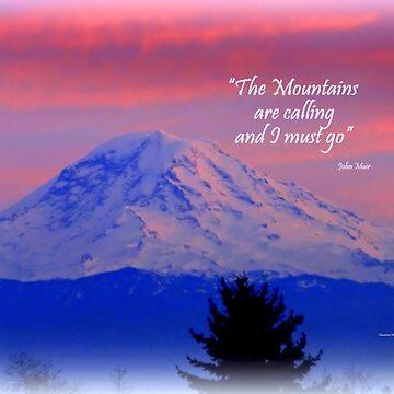 Mount Rainier by Sita