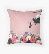 The Conquest of Nature Throw Pillow