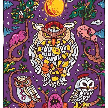 King of owl by nokhookdesign