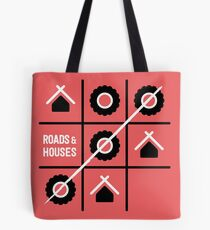 Roads and Houses Game - a road trip always wins Tote Bag