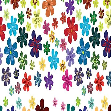 Colorful flowers by GraziaDesigner