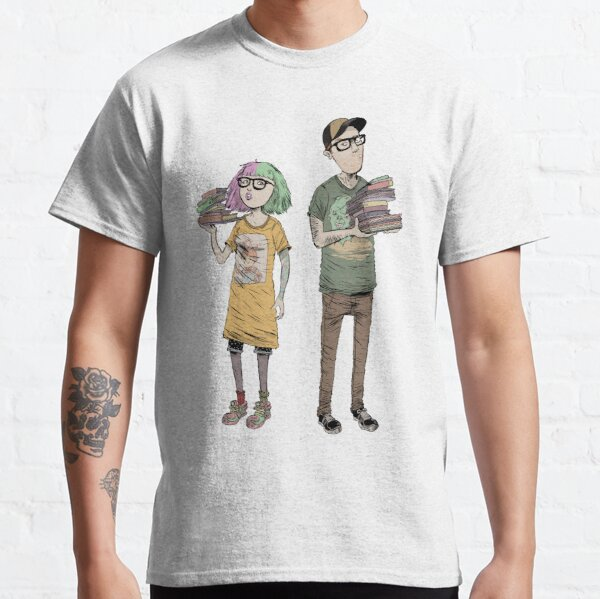 Nerd Burger Team Shirt Classic T-Shirt