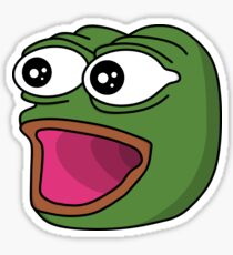 POGGERS Emote Sticker