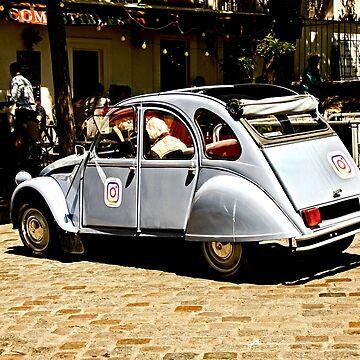Citroën 2CV by Buckwhite
