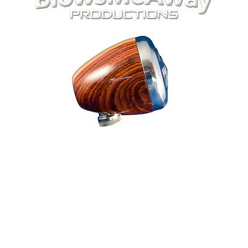 Greg Heumann's BlowsMeAway Productions Wooden Harmonica Microphone by GussowMBH
