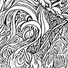 Looping Leaves by Monica Engeler