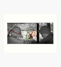Young Love Blossoms Into Lasting Love Art Print