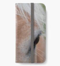 Equine Cowlick iPhone Wallet/Case/Skin