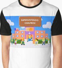 SuperNintendo Chalmers Graphic T-Shirt