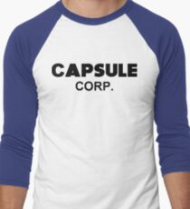 Dragon Ball Z - Capsule Corp. (Trunks) Men's Baseball ¾ T-Shirt