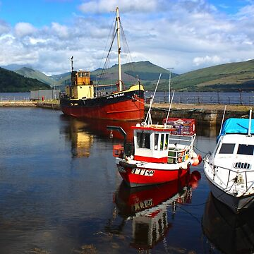 Scotland fishing Trawlers by GregorDyer