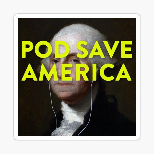 Pod Save Amerika Logo Sticker