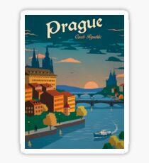 Czech Prague Sticker