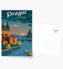 Czech Prague Postcards