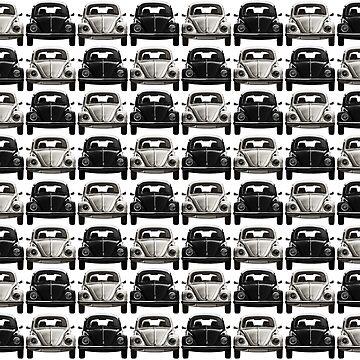 Black and white Volks checker by benbdprod
