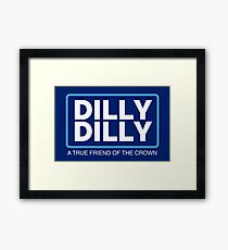 Dilly Dilly Large Framed Print