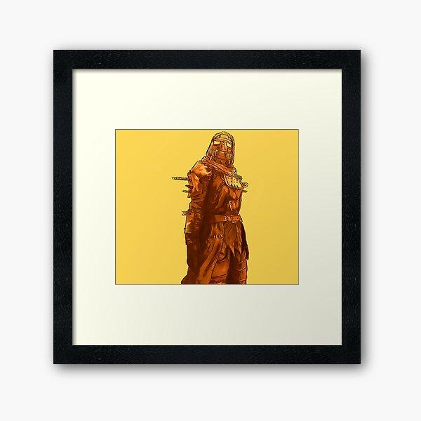 Rusty Raider Framed Art Print