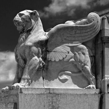 Winged Lion at Victor Emmanuel Monument by GregorDyer