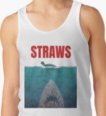 Straws  Men's Tank Top