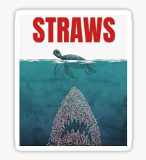 Straws  Sticker
