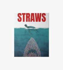 Straws  Art Board