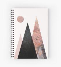 Cuaderno de espiral Cordillera nórdica
