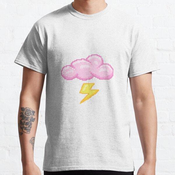 Pixel - Storm Cloud (pink) Classic T-Shirt