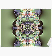 The fractal totem Poster